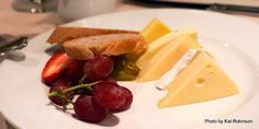 Try the cheese plate for dessert aboard the Carnival Elation -- with five types of cheese and fresh fruit.   Dining aboard the Carnival Elation on Tie Dye Travels with Kat Robinson: http://www.tiedyetravels.com/2013/11/carnival-elation-dining.html #carnivalelation