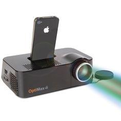 The iPhone Video Projector - Hammacher Schlemmer