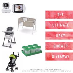Ultimate Baby Shower Prize Pack #Gvieaway! Win a Chicco Bassinet & Highchair, Motorola Baby Monitor, +More! https://wn.nr/BwCxwh