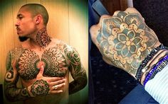10、Nigel de Jong of AC Milan and the Netherlands World Cup: The 10 best tattooed footballers - Telegraph