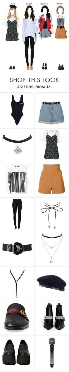 """""""""""Really Really - WINNER"""" Music Cover"""" by bubblecrew ❤ liked on Polyvore featuring adidas, VIVETTA, Alexander Wang, Rosetta Getty, J Brand, Charlotte Russe, John Lewis, Jessica Simpson, Laulhere and Gucci"""