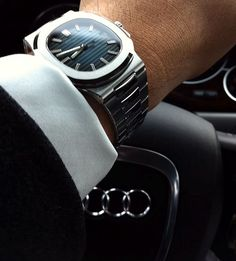 watchanish: Patek Phillipe Nautilus www.wardrobetvshow.com