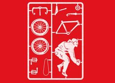 """""""Fix Yourself A Fixie"""" - Threadless.com - Best t-shirts in the world"""
