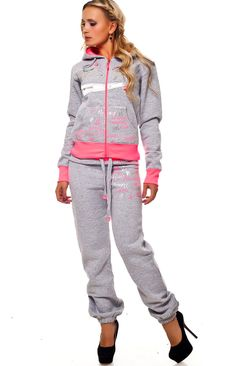 Rebelvision - NEW YORK TRACKSUIT GREY-PINK, $119.99 (http://www.rebelvisiononline.com/new-york-tracksuit-grey-pink/)