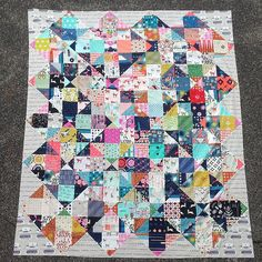 Cotton + Steel Charm Swap Top | Made with the quiltinginther… | Flickr