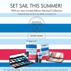 WIN our brand new Nautical Collection by entering our competition. 10 winners will be chosen at random.