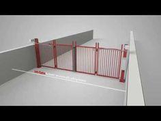 Bi folding Gate Jet-Gate by Demex AB - YouTube