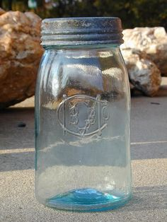 Oldest Ball Jar... oh I want one of these jars so bad I've looked and looked... :( .... no luck so far
