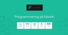 Kodegenet tilbyr programmeringsressurser på norsk og er et tilbud til alle som er interessert i datamaskiner, programmering og elektronikk,