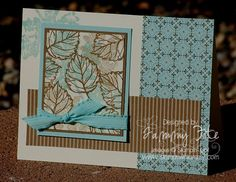 Gently Falling Set Divas Sketch #157 by Tkfite - Cards and Paper Crafts at Splitcoaststampers