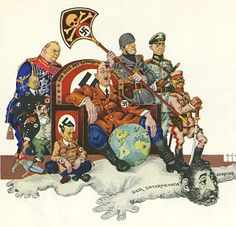 Editorial Cartoons: Arthur Szyk The New Order « AnimationResources.org – Serving the Online Animation Community