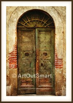 Rome Italy - Old Italian Door, Color or Black & White, Italy Rome Photography, Italy Wall art Decore, Rome Photo. $27.00, via Etsy.