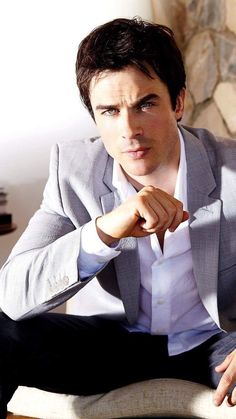 #TVD The Vampire Diaries Ian Somerhalder(Damon)