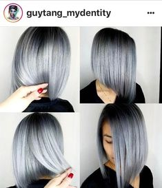 Gray Wigs African Americans Best Ammonia Free Hair Color For Gray Hair – Shebelt mall Grey Hair Wig, Lace Hair, Real Hair Wigs, Short Hair Wigs, Ammonia Free Hair Color, Natural Hair Styles, Short Hair Styles, Grey White Hair, Silky Hair