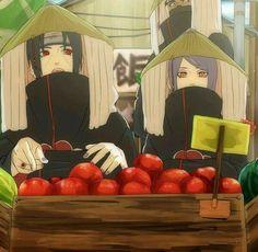 Itachi and Konan ♡♡♡