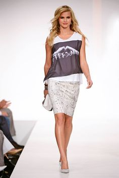 Spring 2014 fashion | GUESS Spring Summer 2014 Collection Fashion Show | FashionMention