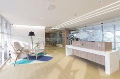 Oficinas de Vilaseca en Ecuador Diseño, cosntrucción y decoración realizados por AEI Arquitectura e Interiores