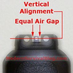 Gun Sight 101 - back to basics sighting instruction for better accuracy