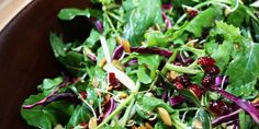 Harvest Salad with Apple Cider Vinaigrette (Chef Michael Smith)