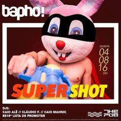 #VEJA The Pub: Bapho! Super Shot #agenda @paroutudo via ParouTudo http://ift.tt/2akLh0E #Raynniere #Makepeace
