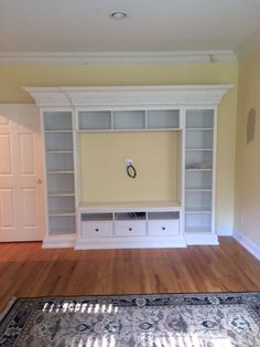 Kids room entertainment and toy storage unit Toy Storage Units, Entertainment Center Redo, Hemnes, Home Projects, Shelving, Kids Room, The Unit, Entertaining, Living Room