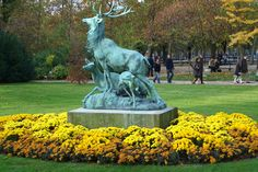 Luxembourg Gardens, Garden Sculpture, Paris, Outdoor Decor, Home Decor, Deer, Montmartre Paris, Decoration Home, Room Decor