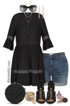 Plus Size Coachella Outfit - Plus Size Festival Outfit Idea - Plus Size Fashion for Women - alexawebb.com #alexawebb