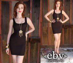 #Vintage #80s #Black #Ribbed #Bandage #Mini #Dress XS S by shopEBV http://etsy.me/11NlI7z via @Etsy #etsy #shopEBV by shopEBV, $52.00