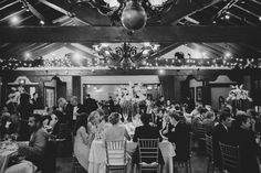 Floral arrangements by Lee James Floral Designs at Historic Dubsbread Ballroom. Photo by Sunglow Photography.