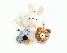 PDF. PATTERN  Dream Team Collection Set 1: Bear Bunny and