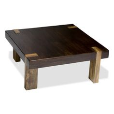 Berkeley Coffee Table Interlude Home... a great use for reclaimed lumber..