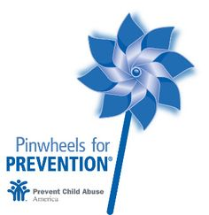 April is Child Abuse Prevention Month.  Look for the blue ribbons and pinwheels in your community.