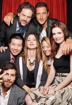 Grimm Cast - Silas Weir Mitchell, Sasha Roiz, Reggie Lee, Bree Turner, Claire Coffee, Bitsie Tulloch and David Giuntoli. (I'm really missing Russell Hornsby though!)