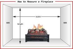 The Proper Way to Measure Dimensions of a Fireplace