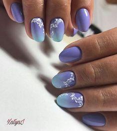 Gradient Nails Art Tutorial: How to Do Gradient Glitter Nails Best Nail Art Designs, Beautiful Nail Designs, Acrylic Nail Designs, Acrylic Nails, Glitter Nail Art, Gel Nail Art, Easy Nail Art, Nail Polish, Gradient Nails