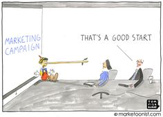 """New Vocabulary- """"Marketoonist"""" are people who create cartoons about the truth about marketing """"Permission Marketing"""" - the previledge of delivering anticipated personal and relevant messages to people who actually want to get them Social Media Marketing Agency, Marketing And Advertising, Digital Marketing, Research Logo, Political Ads, Work Travel, Information Technology, Business Entrepreneur, Pinterest Marketing"""
