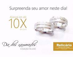Aproveite o dia dos namorados para surpreender seu amor. coleção IN LOVE!  AGUARDEM! #valentineday #diadosnamorados #colecao #inlove by relicario_semijoiasrelogios