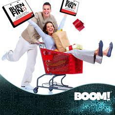 Por fin llego #ElBuenFin y #BOOM! tiene los mejores precios para ti.