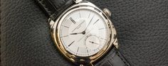 Laurent Ferrier Galet Classic Square Tourbillon Double Spiral Sector Dial - The retail price is CHF 180,000 Swiss Francs.