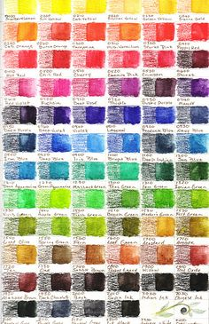 Very useful Inktense 72 Color Set available on Flickr by nbd95. View via link. Must do one on fabric.