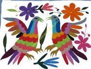 Resultado de imagem para patrones de bordado otomí