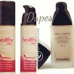 #Chanel Pro Lumier vs. #Bourjois Healthy Mix work the same