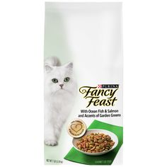 Purina Fancy Feast Gourmet Dry Cat Food With Ocean Fish and Salmon ** For more information, visit now : Cat food