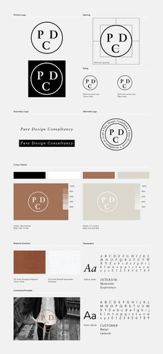 Identity, editorial and web design for Pure Design Consultancy. Graphic Design Branding, Stationery Design, Identity Design, Brochure Design, Brand Identity, Corporate Identity, Design Guidelines, Brand Guidelines, Web Inspiration