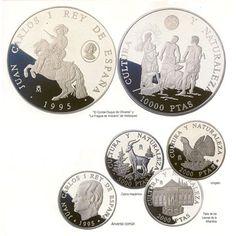 Serie plata. Cultura y Naturaleza 1995. Estuche.