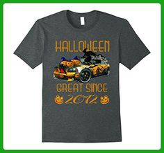 Mens Great Since 2012 Funny Halloween T-Shirt 5th Birthday Tee XL Dark Heather - Birthday shirts (*Amazon Partner-Link)