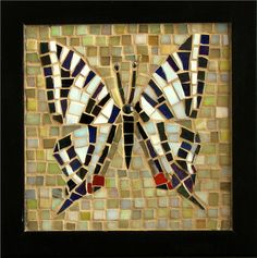 Zebra Swallowtail Butterfly (Commission) by Pauline Gallagher Art, via Flickr