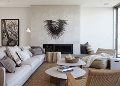Living Room   Cliff Top House by Hare + Klein   est living