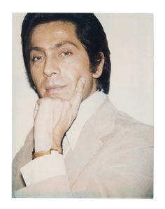 Andy Wharol Polaroid Valentino Garavani 1973