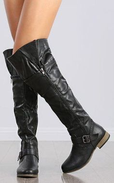 Riding Tall Over The Knee High Women Boots Equestrian Western Fashion Shoes (Legend-38)